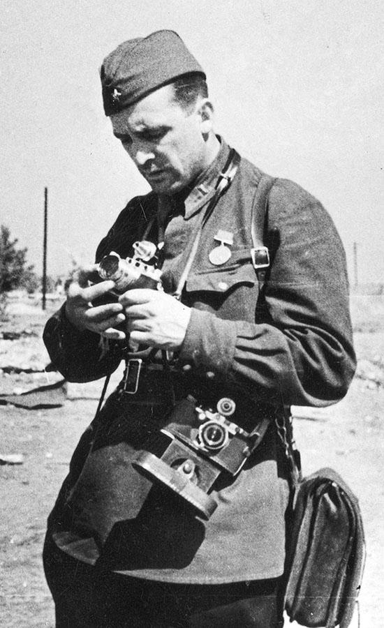Павел Трошкин, 1942 г.