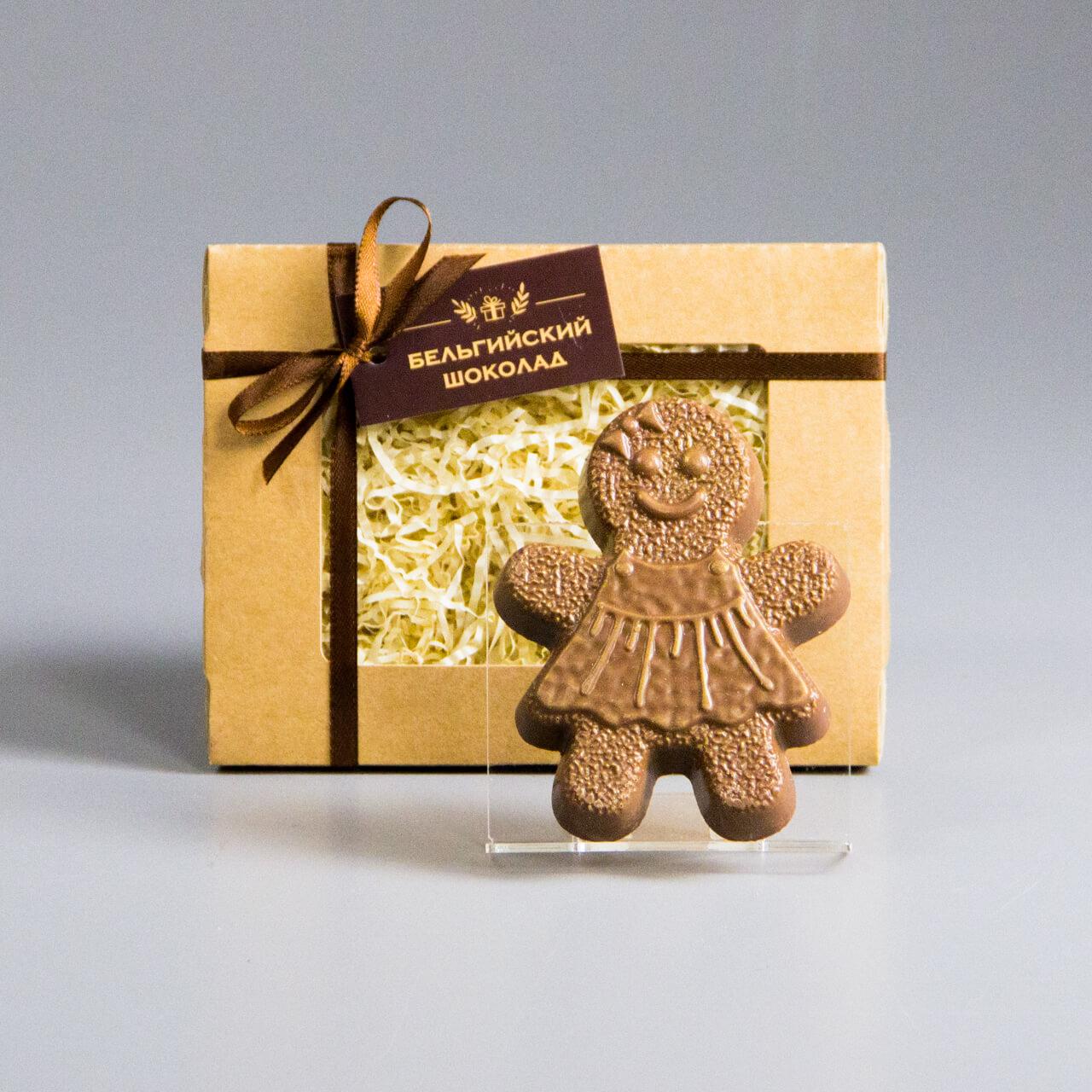 Шоколадная фигурка «Пряничная девочка»