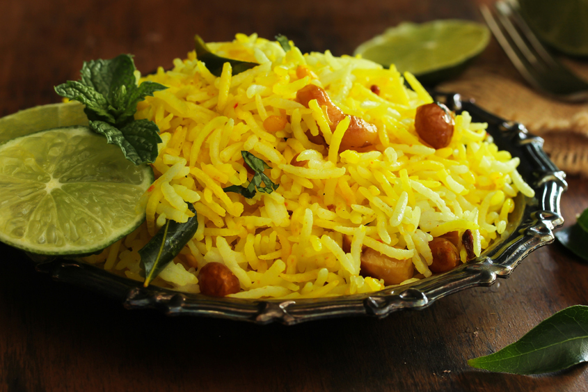 Пълнозърнест ориз Басмати Krina със стафиди, кашу и куркума