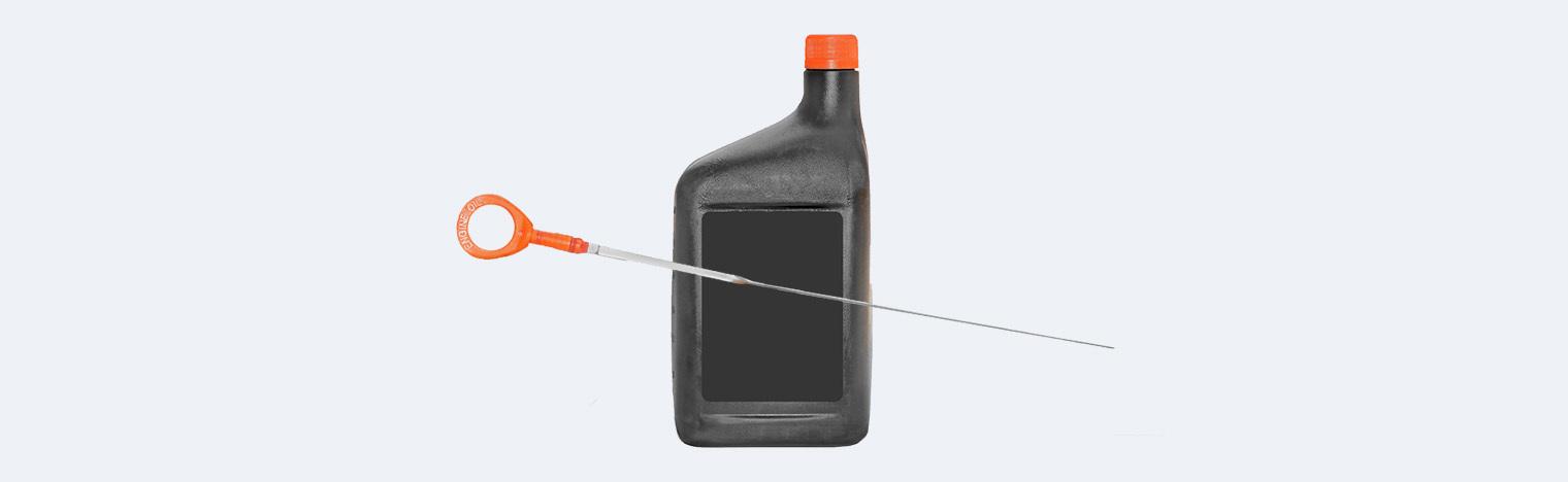 проверочный щуп масла