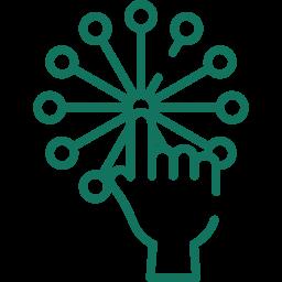 Project Management icon - Digital Transformation hackabu