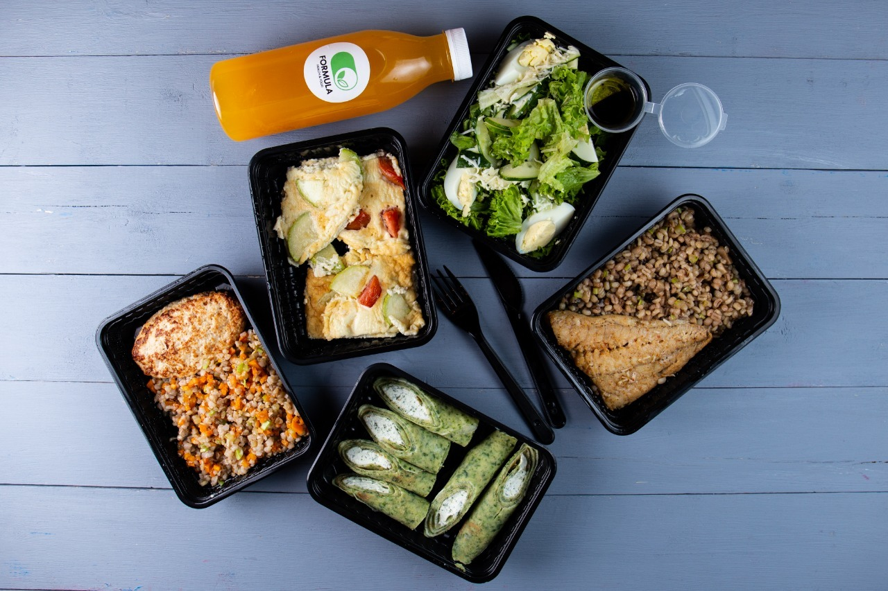 еда для похудения с доставкой на дом