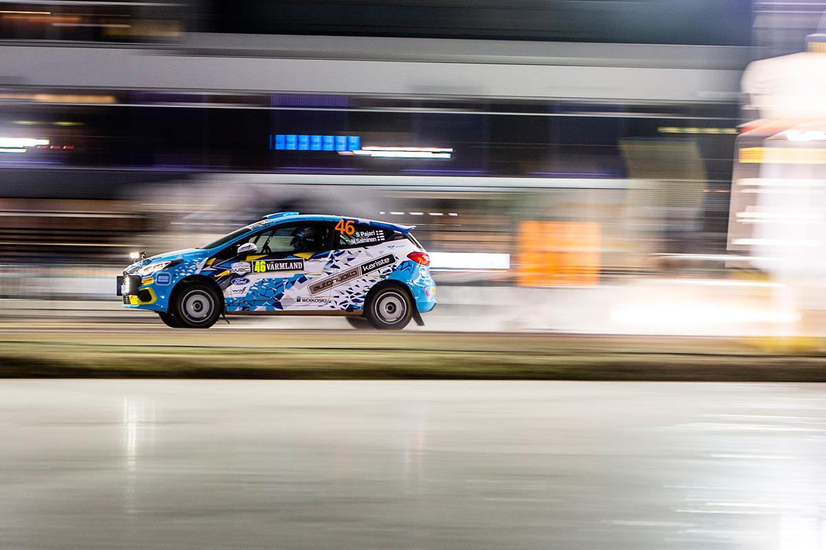Сами Паяри и Марко Салминен, Ford Fiesta R2T19, ралли Швеция 2020