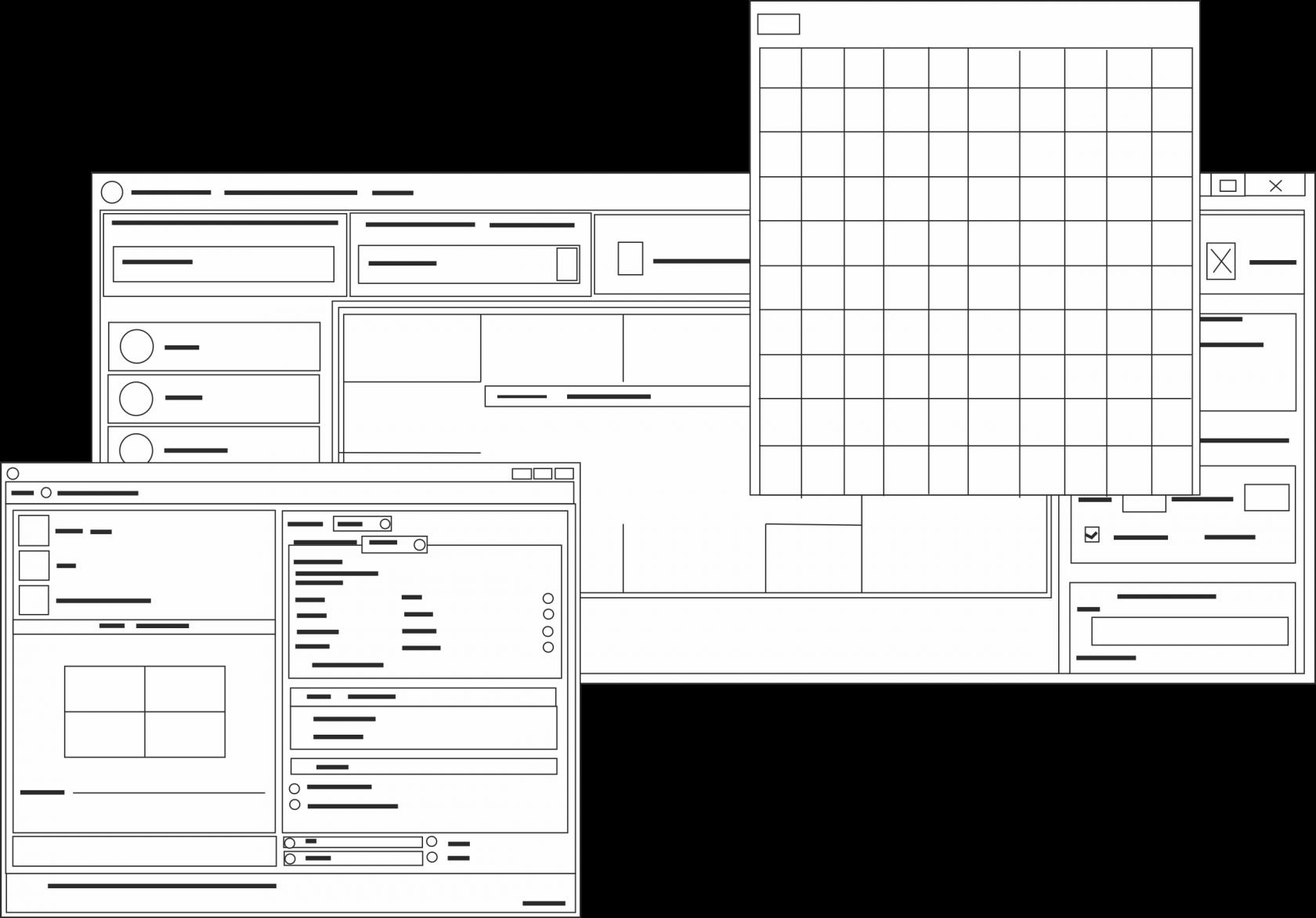 Videon. Интерфейс программы управления