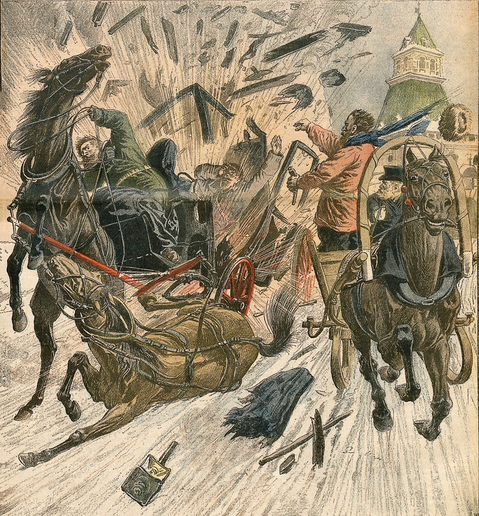 иллюстрация: Le Petit Journal illustré (1905).
