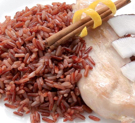 Червен ориз Krina с аромат на кокос