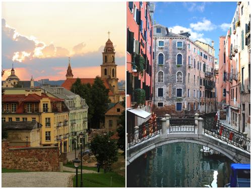 Вильнюс и Венеция в декабре