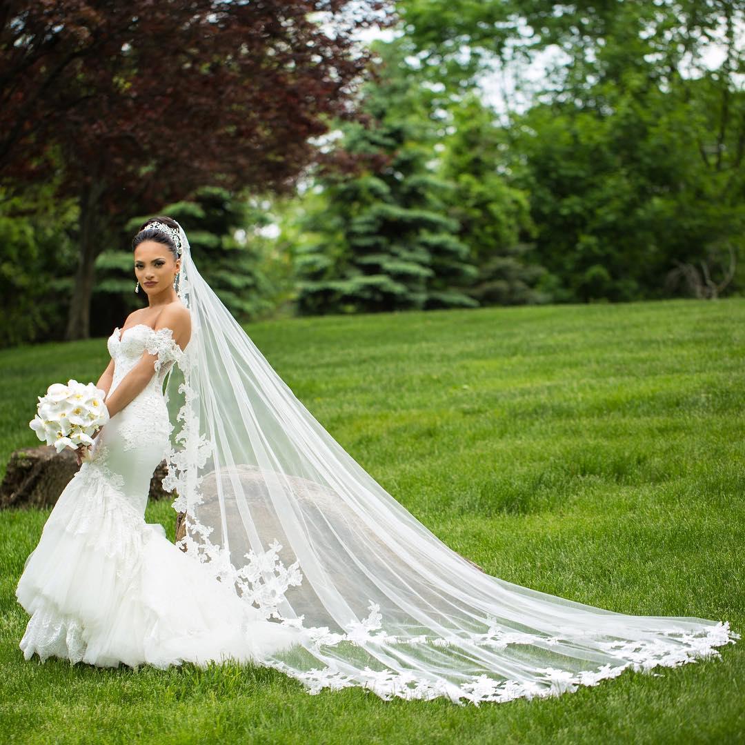 фата невесты в наличии в москве