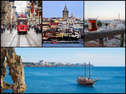 Анталья и Стамбул в ноябре