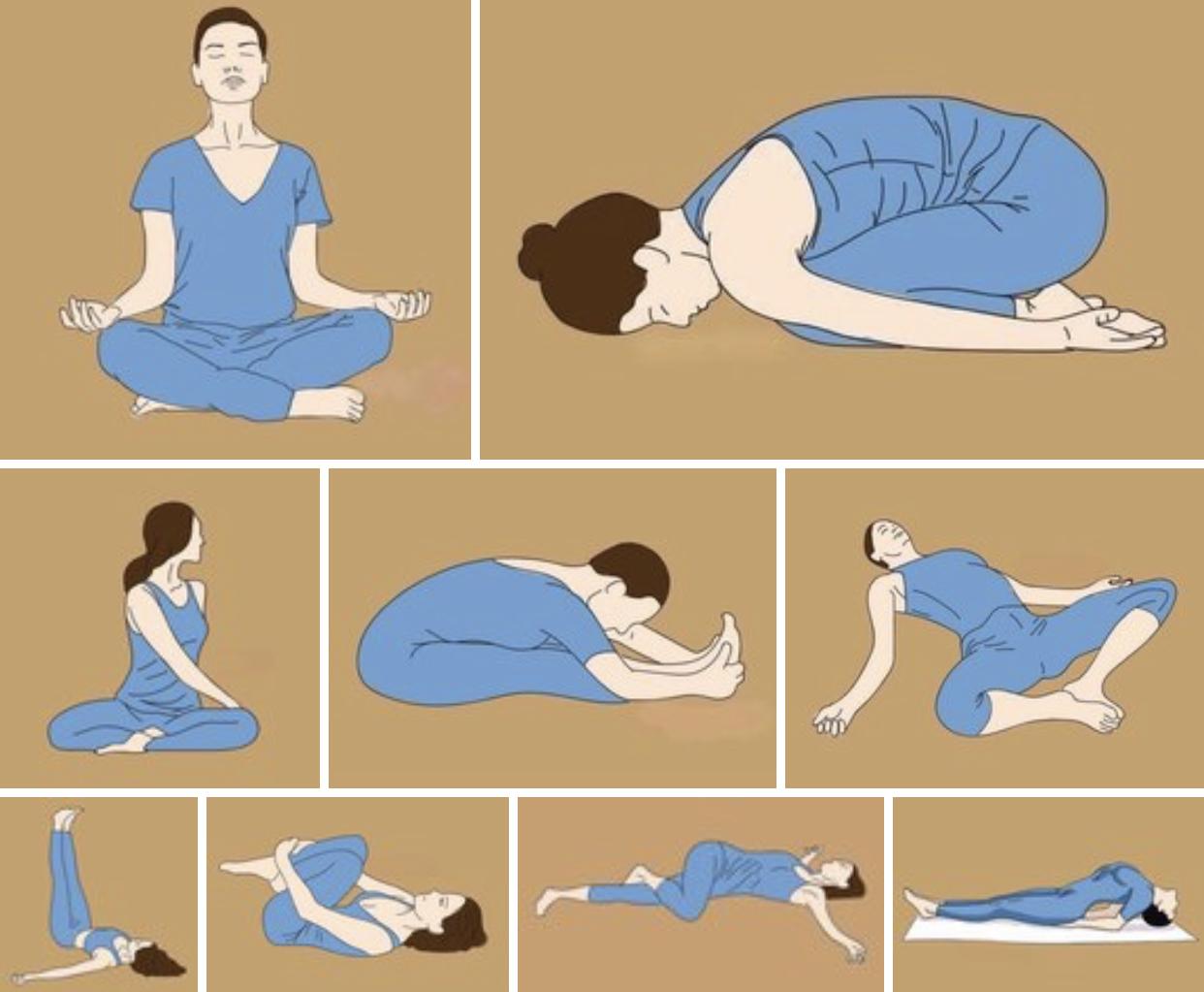 Йога при поясничной грыже