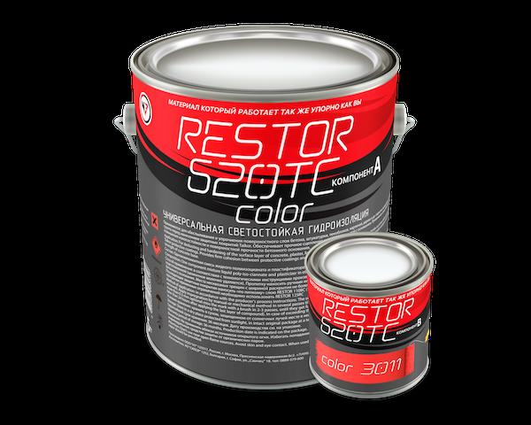 RESTOR 620TC Color Универсальная светостойкая  гидроизоляционная мембрана
