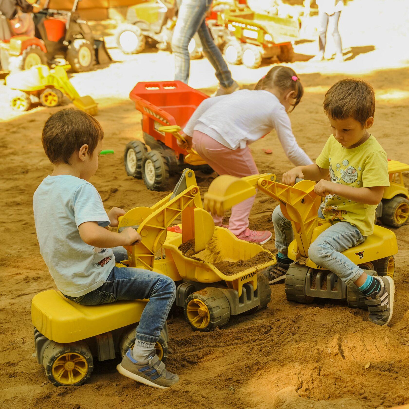 школа маленьких строителей