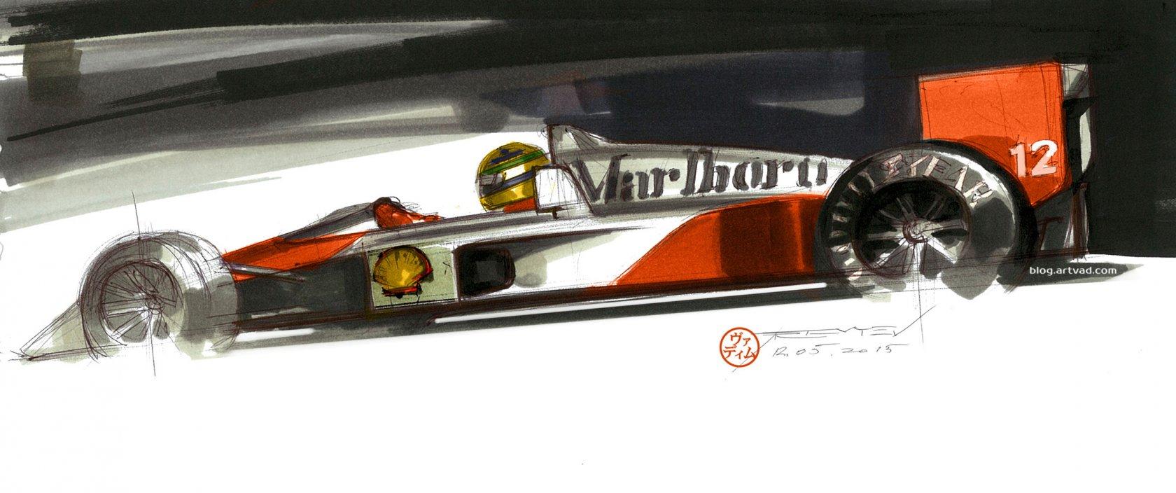Senna's McLaren MP4/4