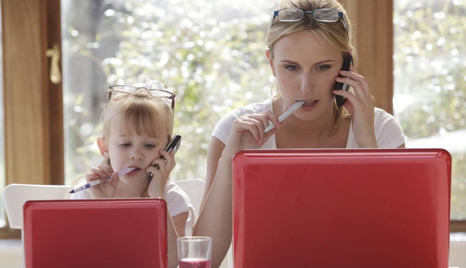 Смотреть Как совместить воспитание ребенка и карьеру видео