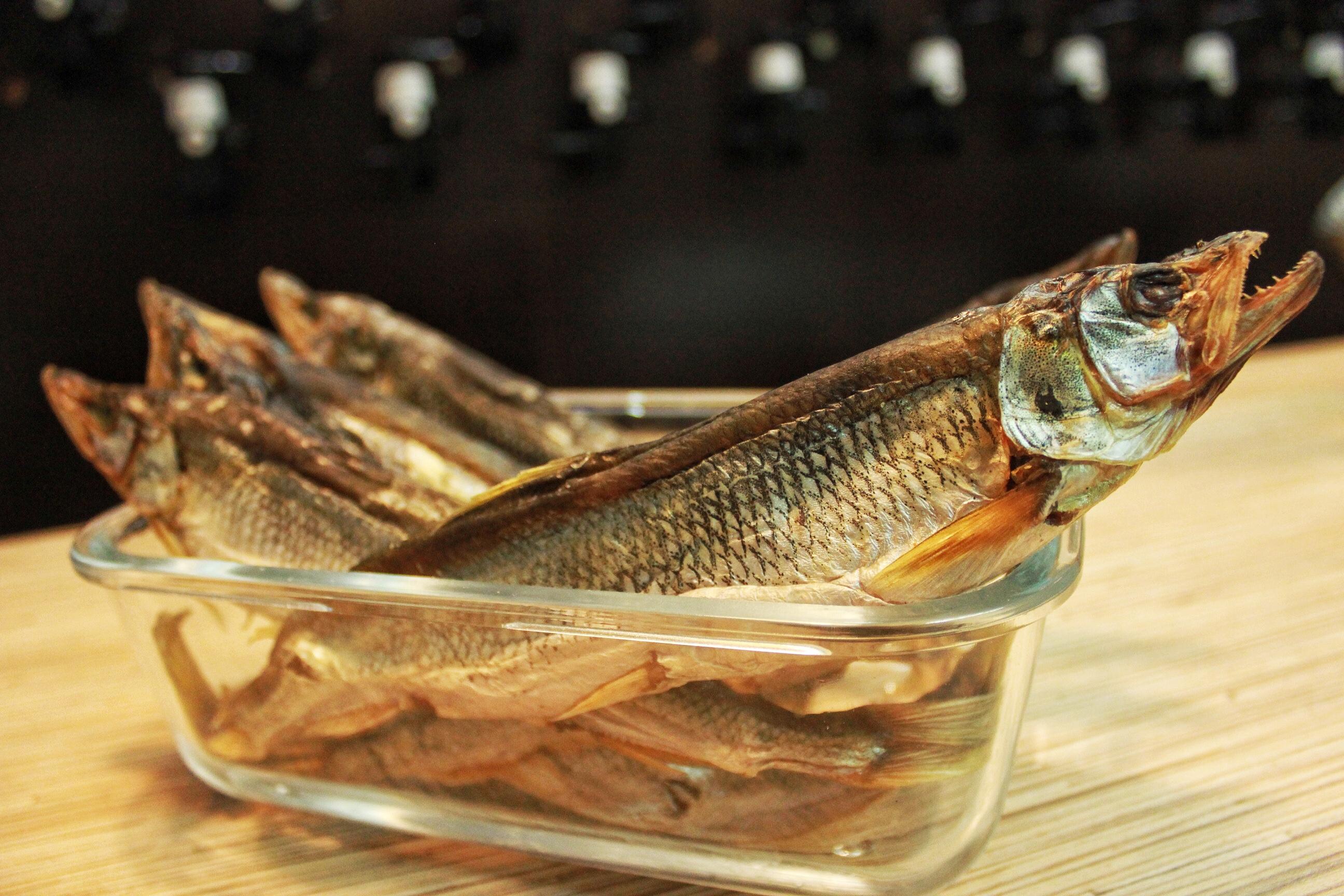 Картинка сушеной рыбы