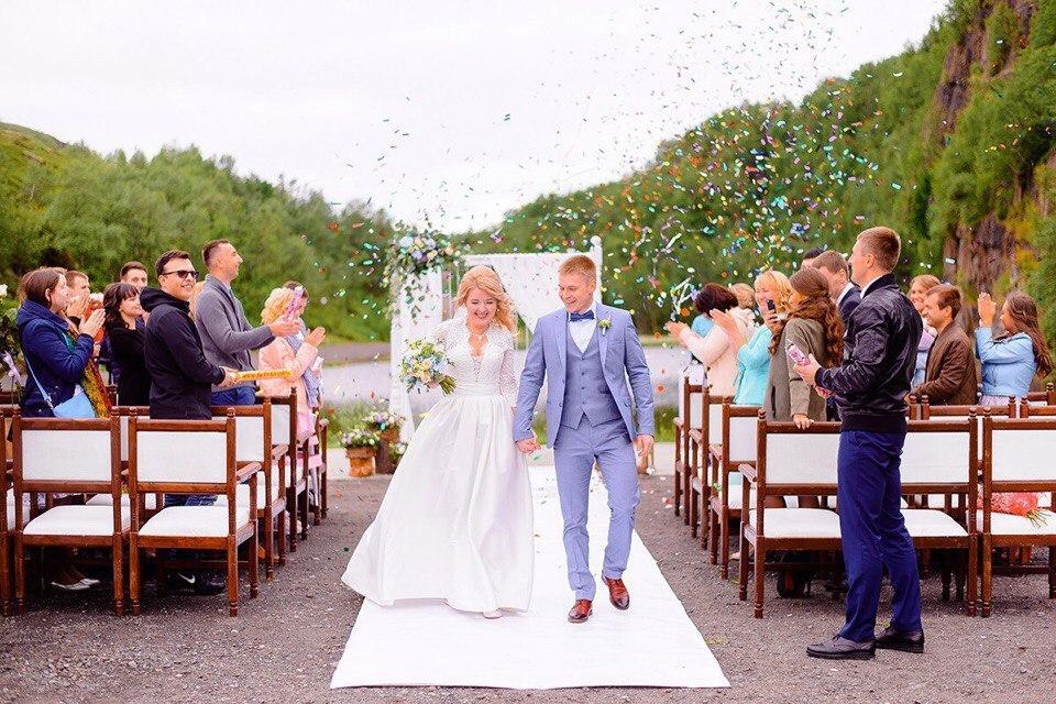 фотографии с мурманских свадеб