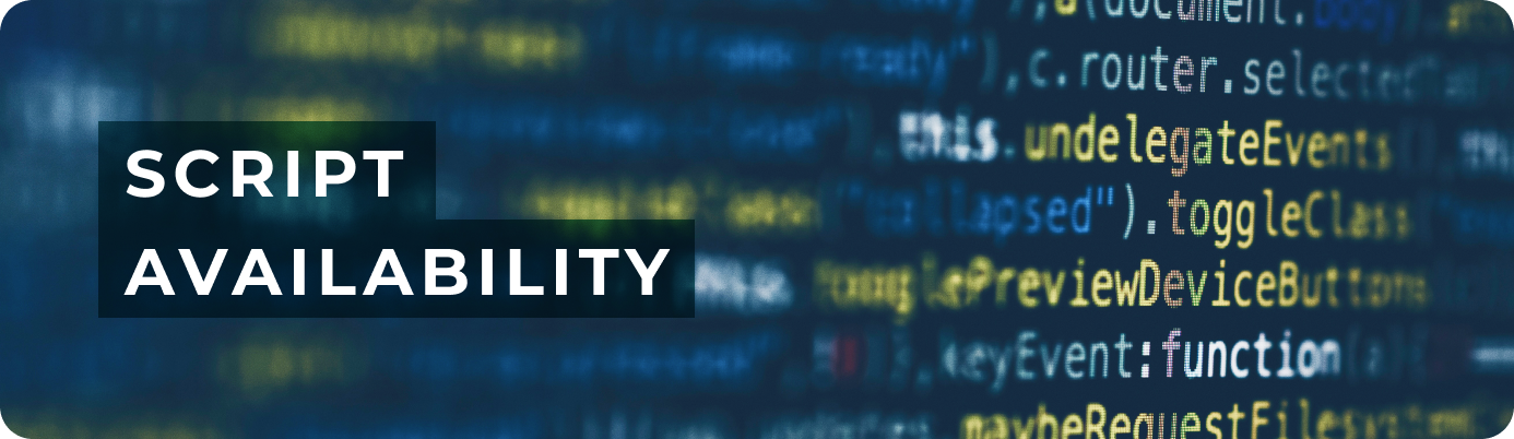 Teleport Media script availability
