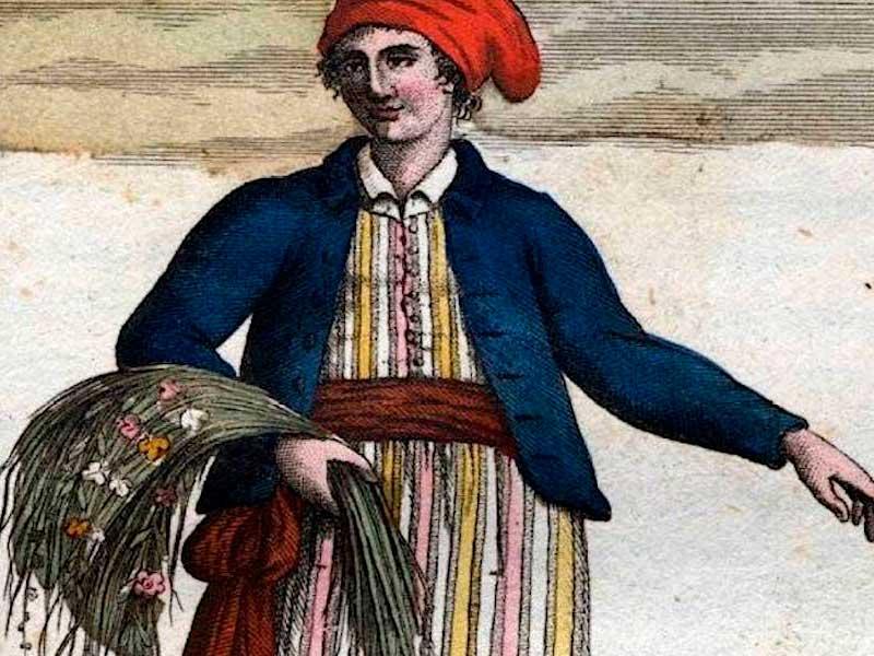 Жанна Барре - первая женщина, совершившая кругосветное путешествие, переодевшись в мужское платье