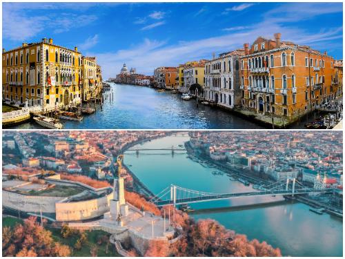 Венеция и Будапешт в ноябре