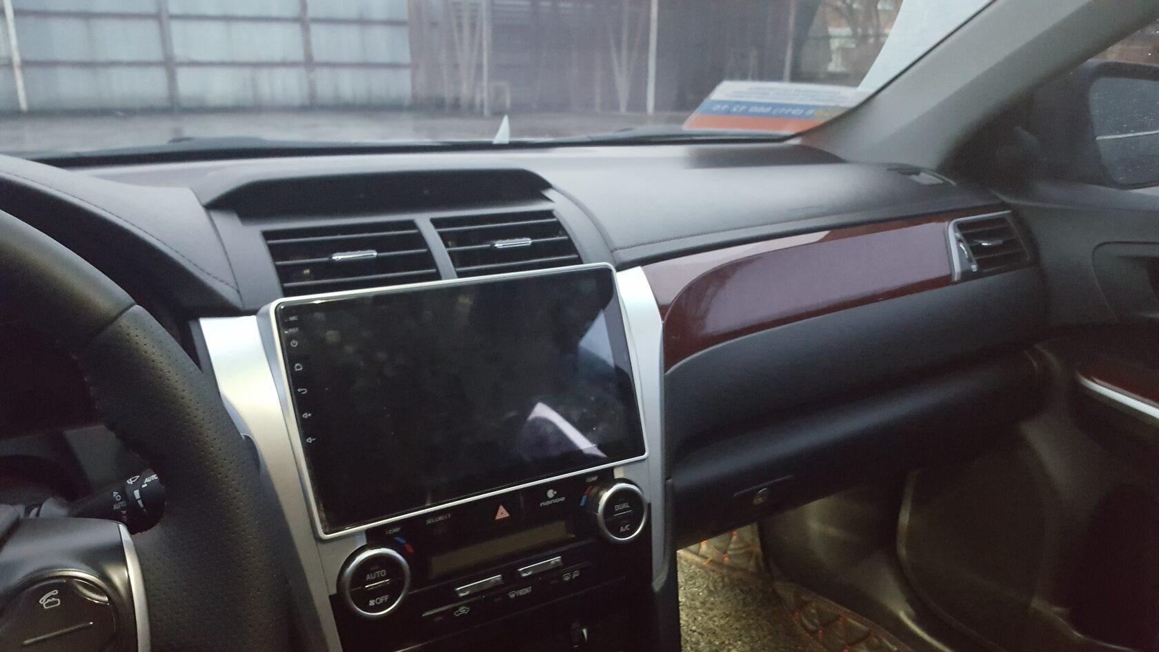 android магнитола в Toyota Camry V50