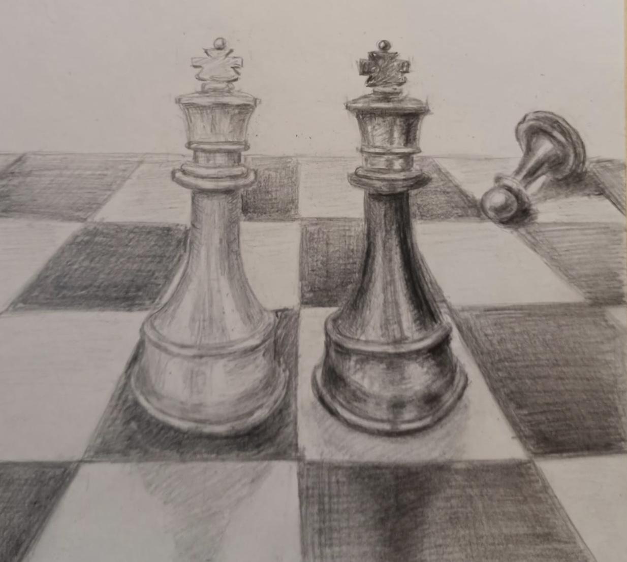 Фролова Лариса / тема «Игра» /карандаш