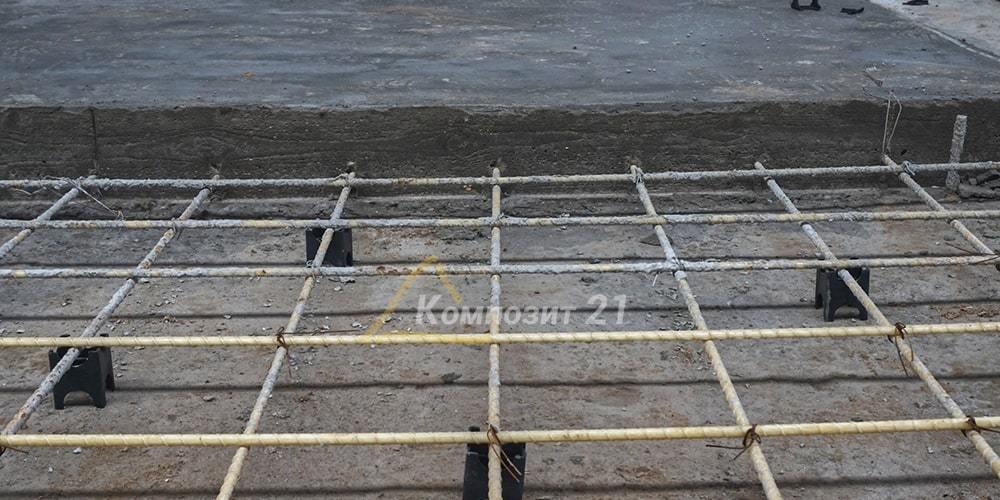 Величина защитного слоя бетона