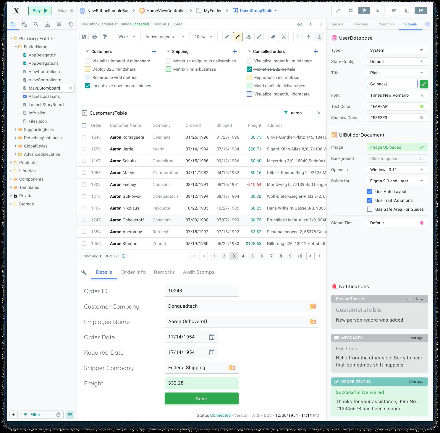 Figma Dashboard Template Material Desktop Kit