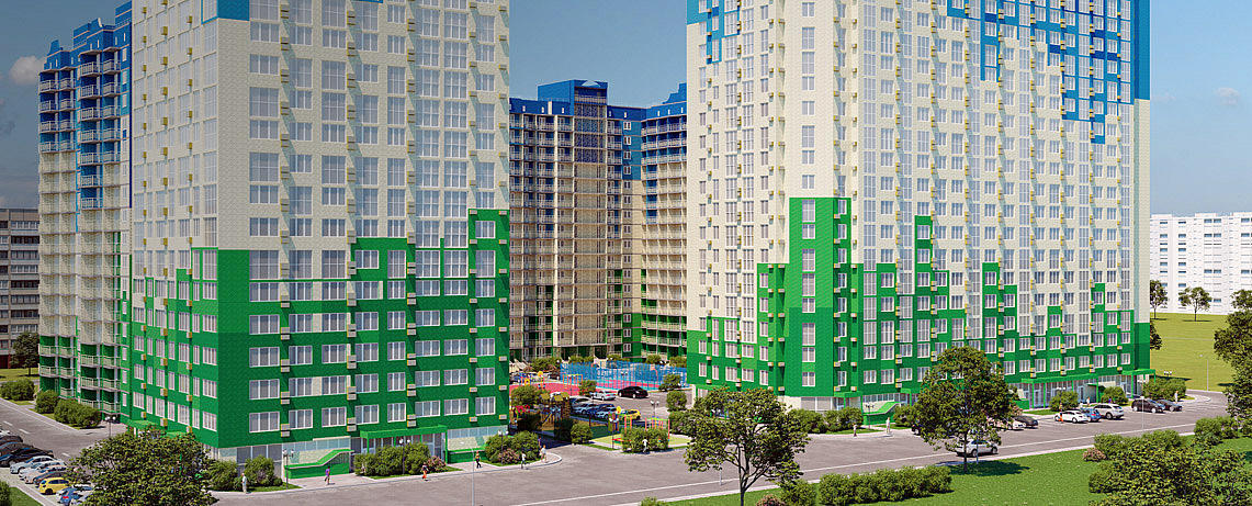 ЖК Гарантия на Карякина находится в одном из самых развитых районов города. В ближайшем окружении находится вся городская инфраструктура: 2 школы, 4 детских сада, 3 мед учреждения, 11 супермаркетов, остановка трамвая. Купить квартиру от застройщика