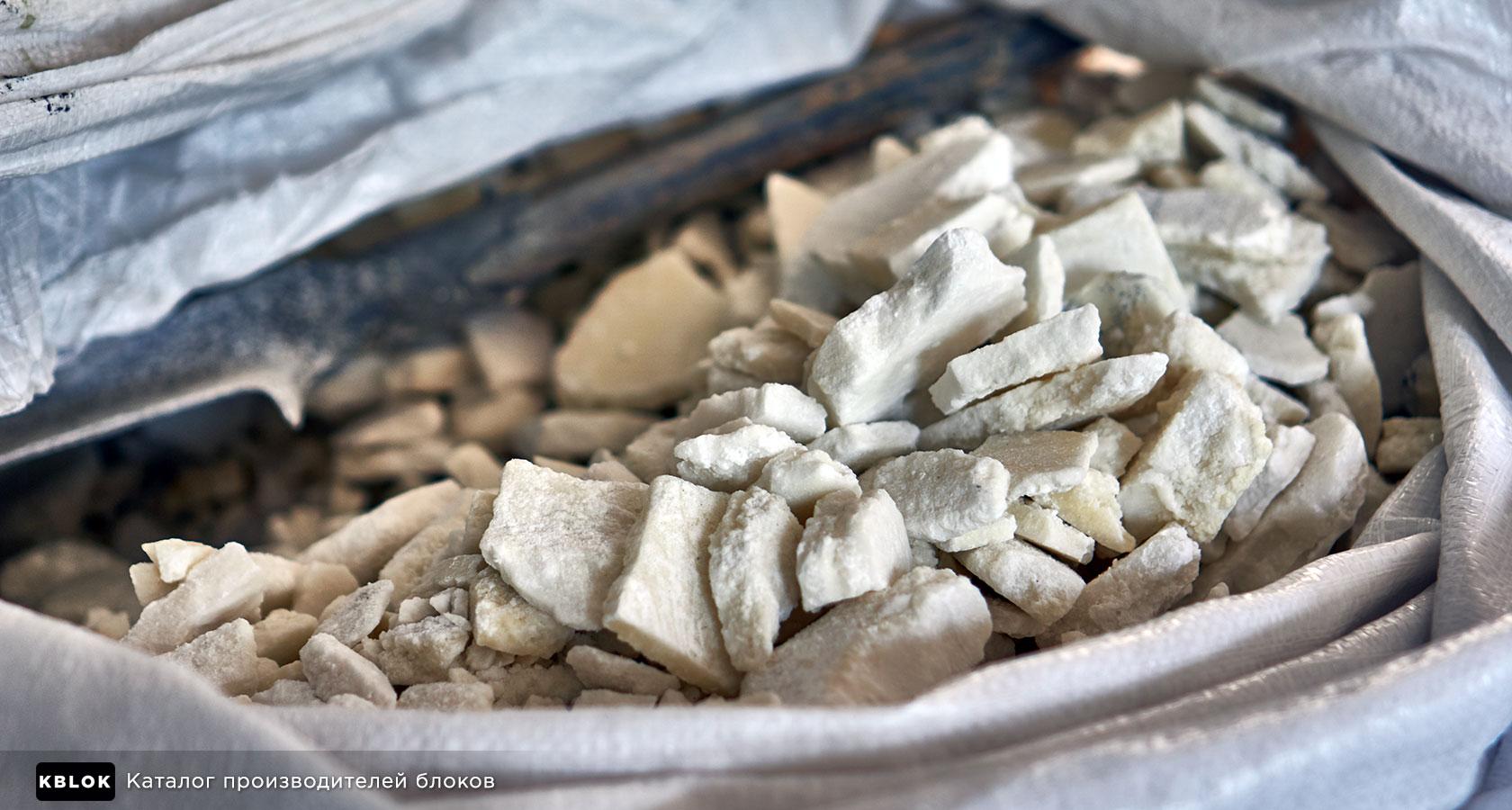 Кусковой сульфат алюминия
