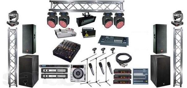 Аренда профессионального сценического оборудования - услуга компании Russ- Event Company