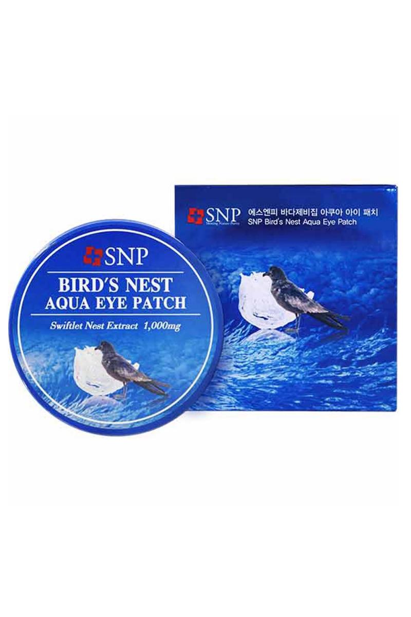 Патчи с экстрактом ласточкиного гнезда. SNP Bird's Nest Eye Patch
