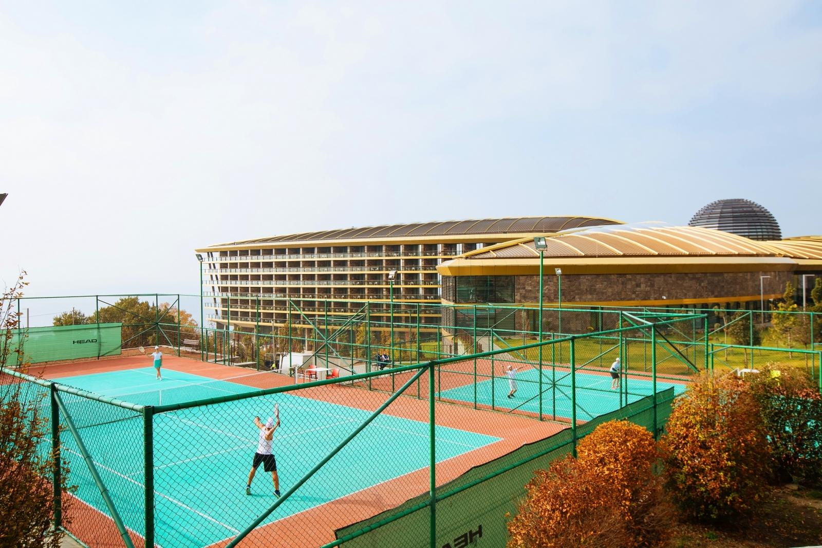 Спортивный и фитнес инвентарь для топового отеля в Крыму Mriya Resort & Spa