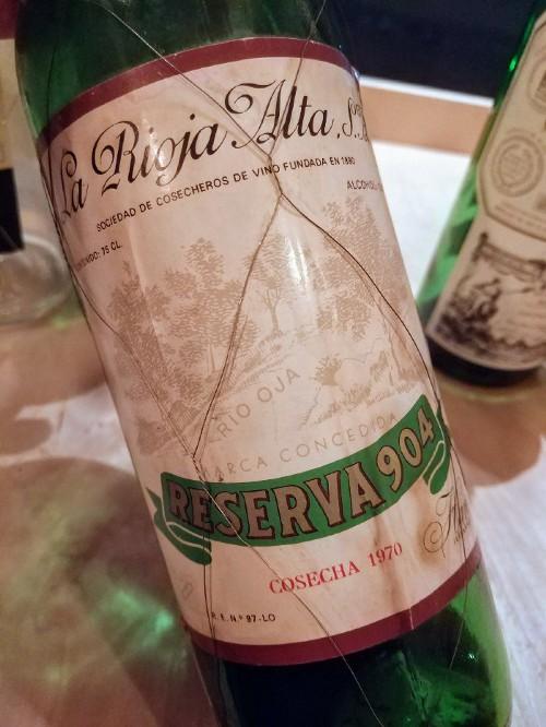 1970 La Rioja Alta Rioja Reserva 904