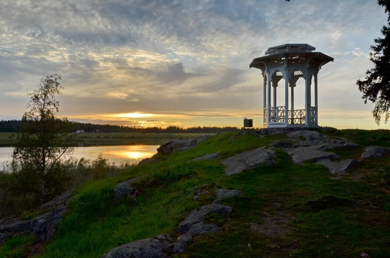 Ладожское озеро Сортавала