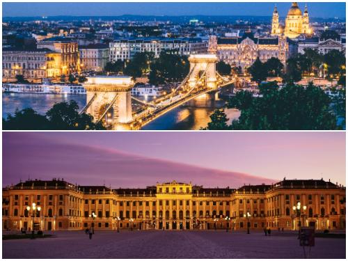 Будапешт и Вена зимой за 8 900