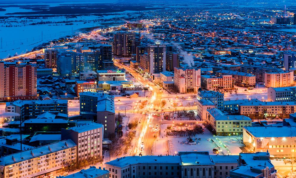 этого фото якутска современный красивый город головной