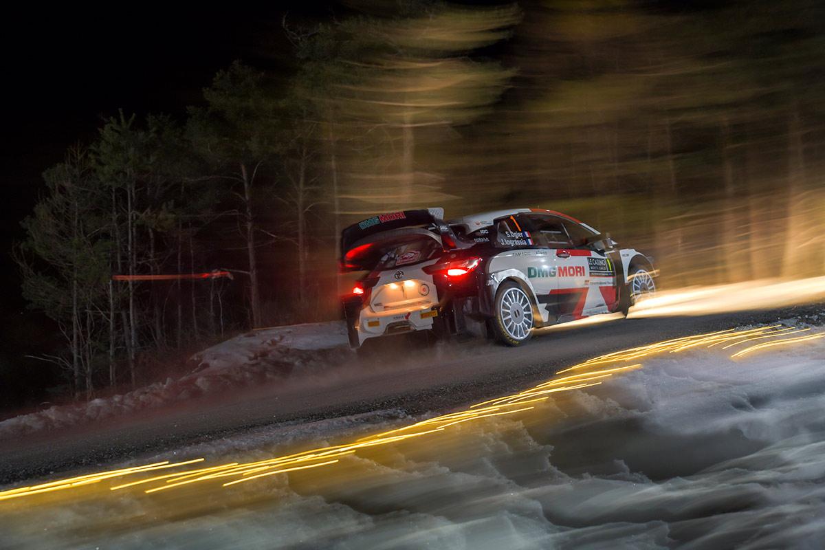Себастьен Ожье и Жюльен Инграссиа, Toyota Yaris WRC, ралли Монте-Карло 2021