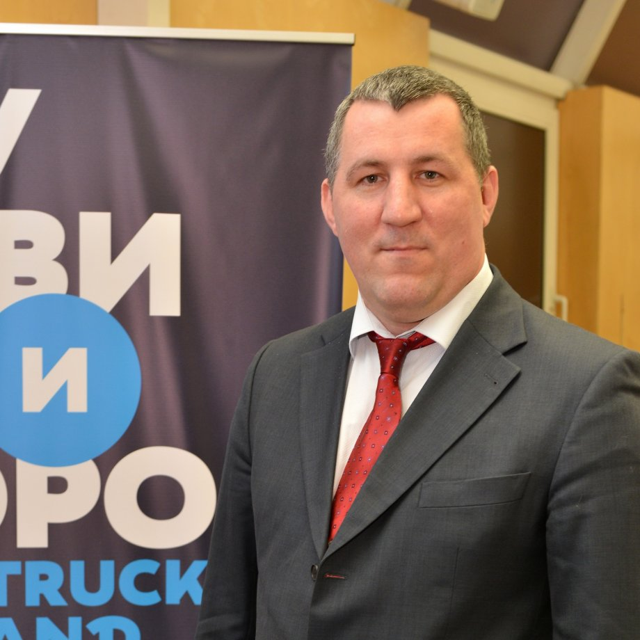 Президент ассоциации «Грузавтотранс» Владимир Матягин