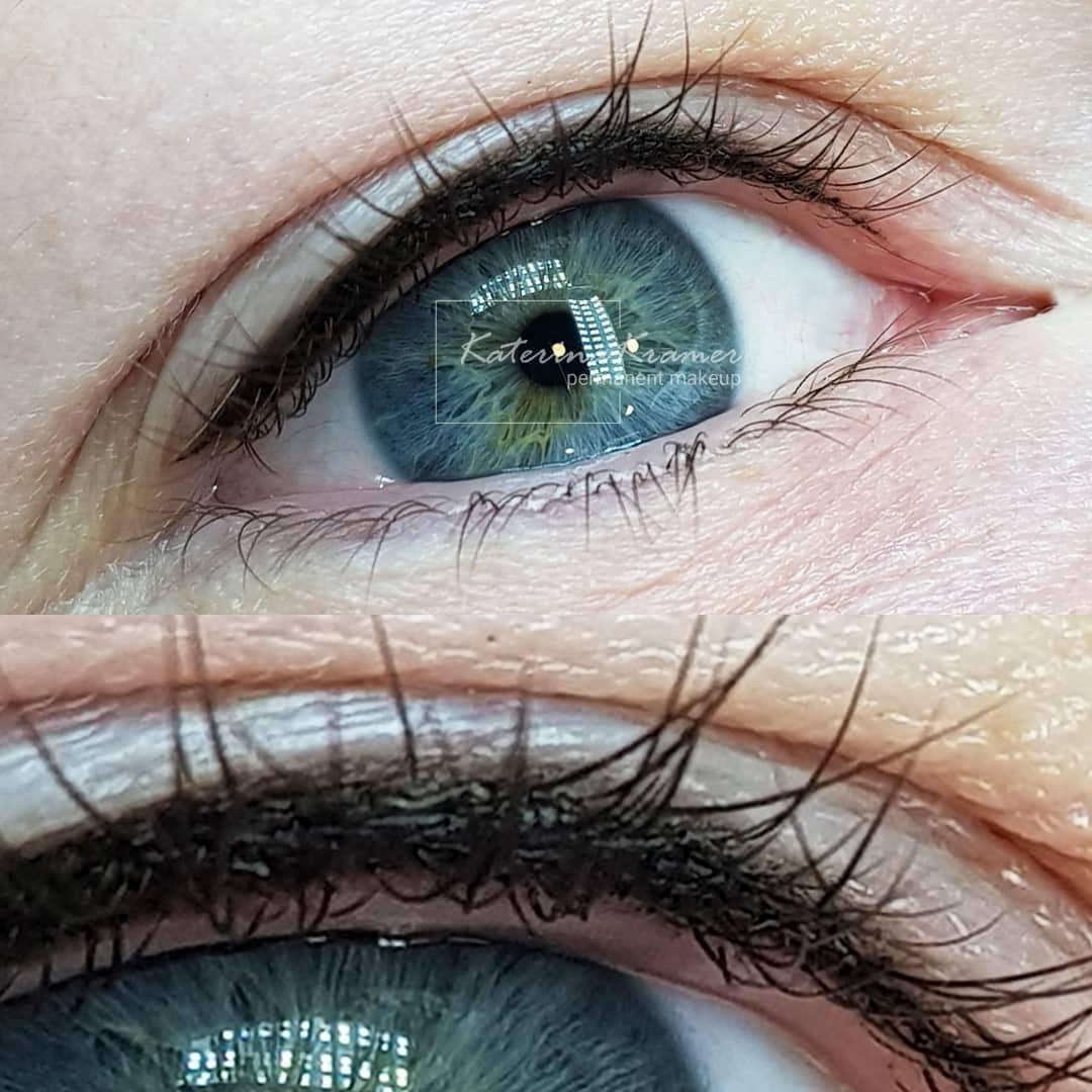 Межресничный татуаж глаз отзывы ❤️ KRAMER PMU STUDIO