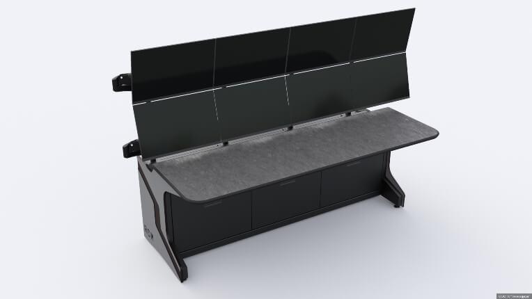 Диспетчерский стол для ГК «Лаборатория Комфорта»