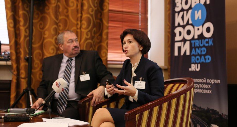 Доклад Ирины Новиковой из GEFCO Russia удостоился наибольшего интереса аудитории (фото: ATO Events)