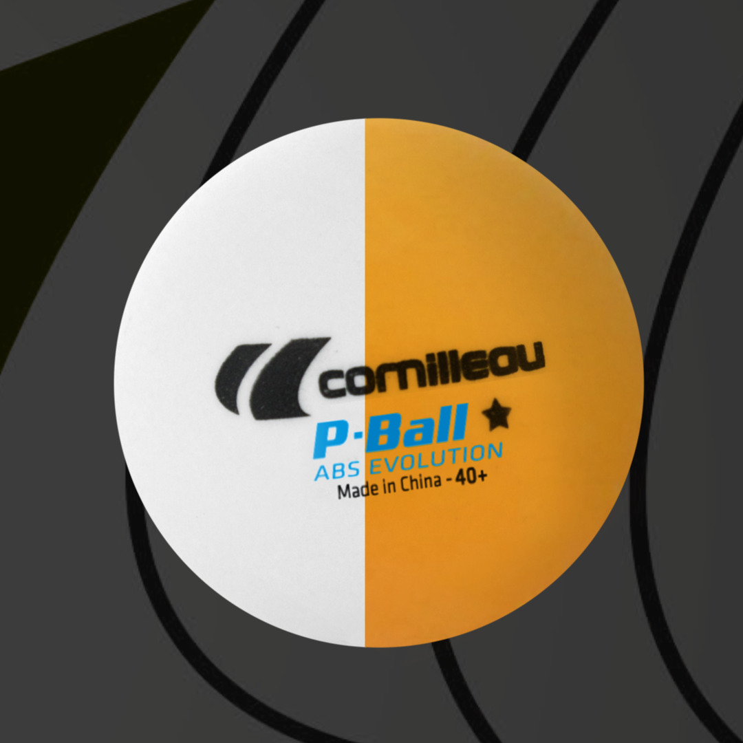 Cornilleau P-Ball ABS Evolution promo banner