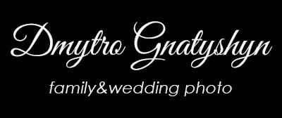 Dmytriy Gnatyshyn family&wedding photo