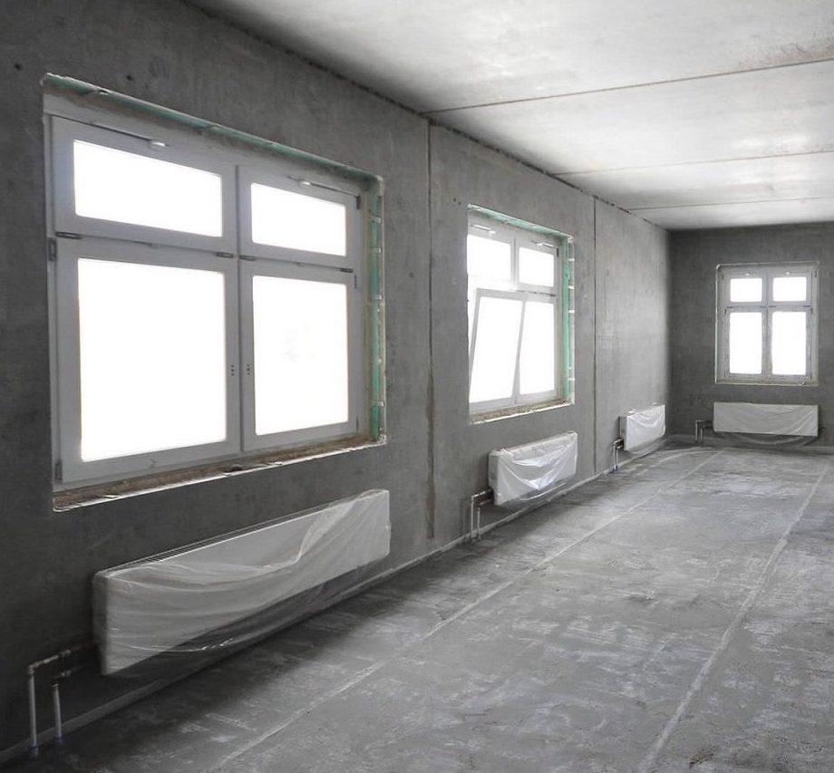 Срок ремонта в квартире без отделки
