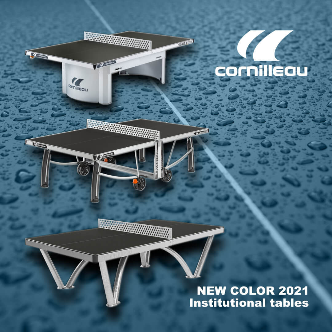 Cornilleau Institutional tables new color 2021