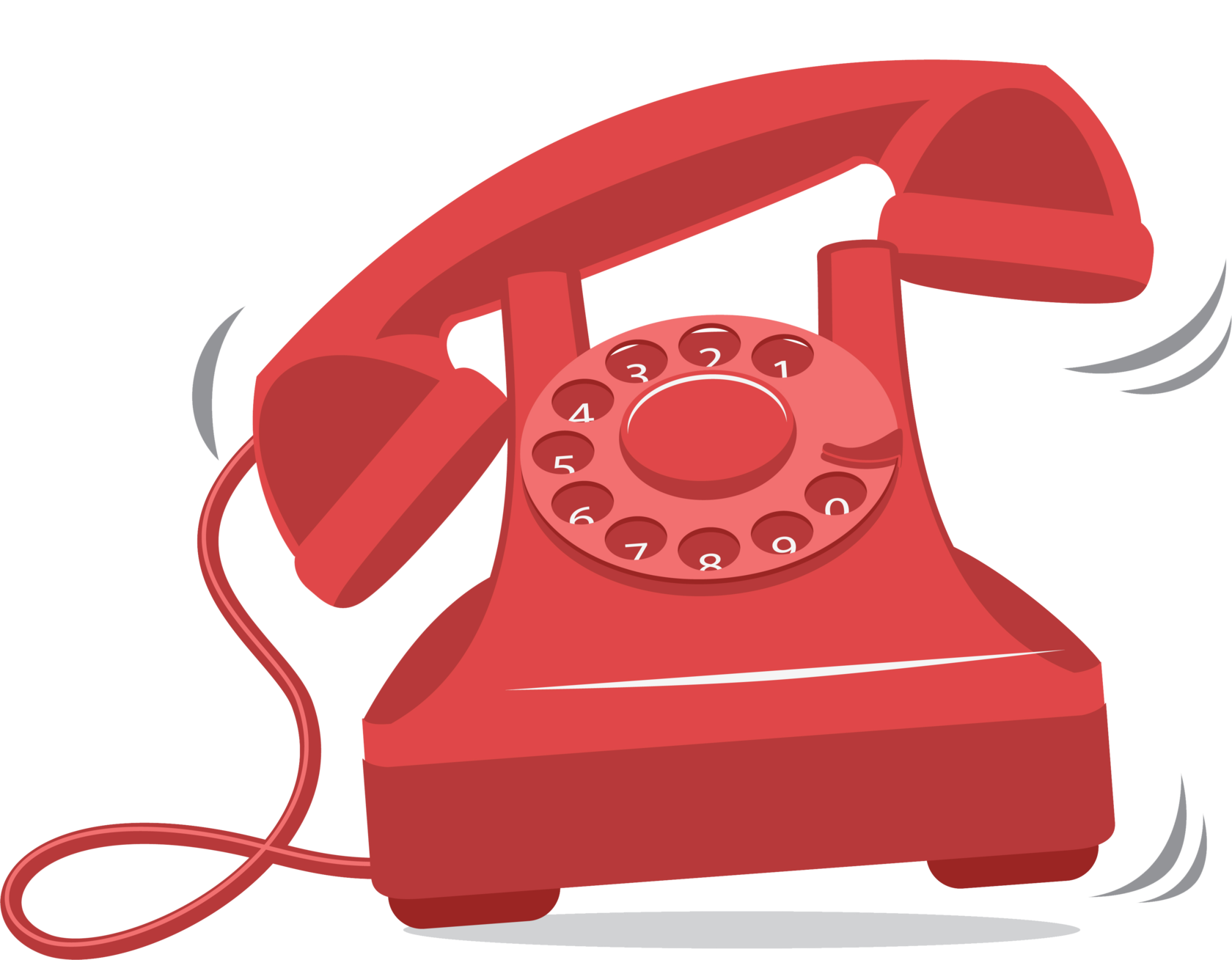 картинка звонящий телефон