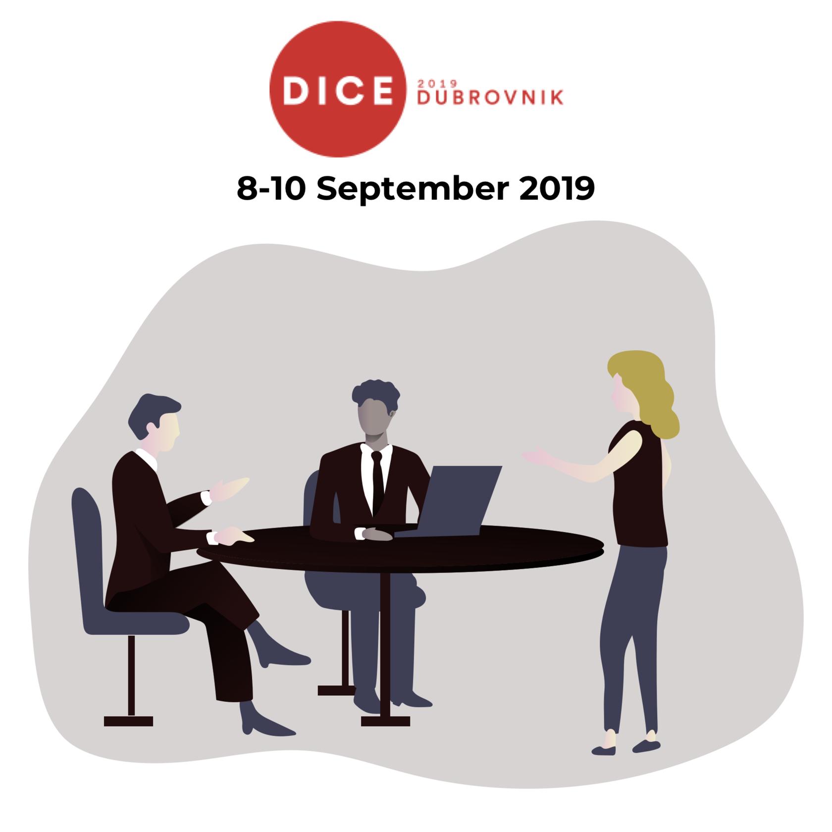 DICE Dubrovnik — September 8-10
