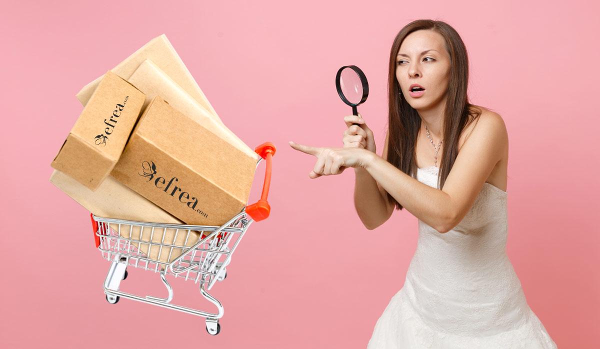 Виж информация за наблюдаваните продукти в онлайн магазин Efrea.