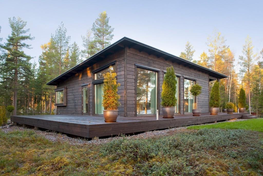 Красивые картинки финских домов- бань без водяных знаков