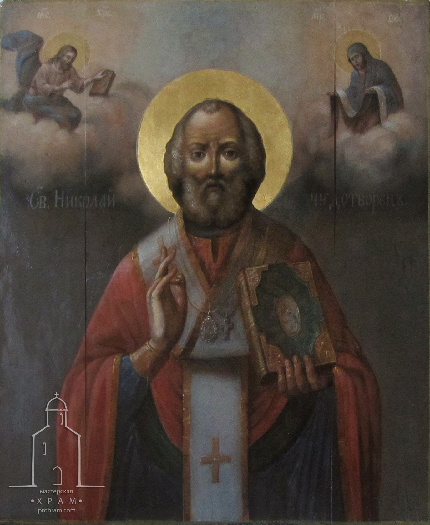 реставрация деревянных икон, реставрация домашней иконы, реставрация иконы минск, реставрация иконы фото до и после